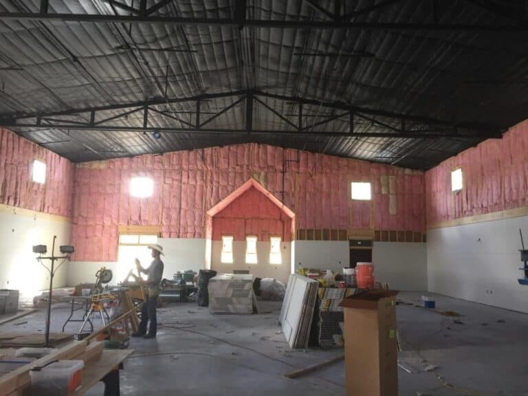 Warehouse Construction / Insulation